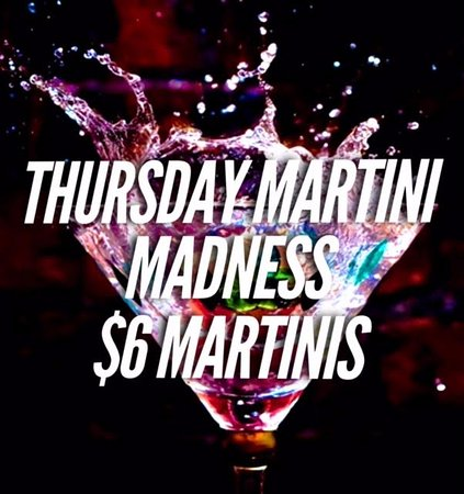 Middletown, NY: JOIN US FOR $6 MARTINIS!