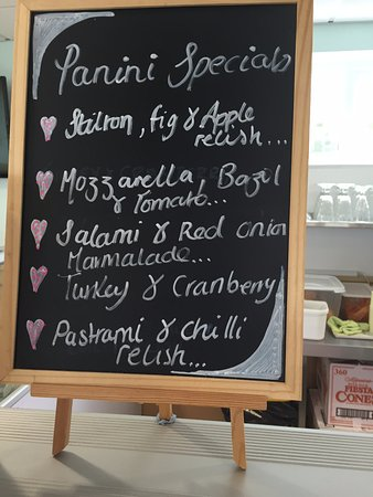 Aberporth, UK: Some of our panini specials