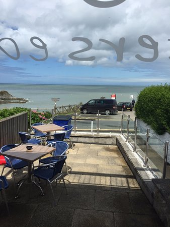Aberporth, UK: The view.....