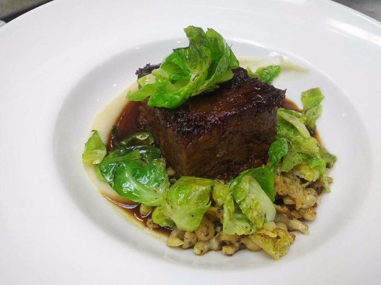 Highland Park, IL: Boneless beef short ribs with spaetzle - delicious!