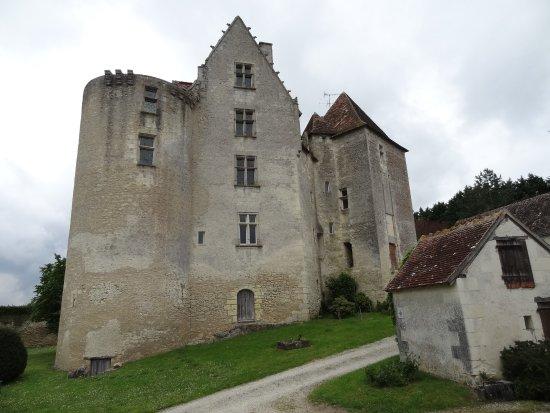 Betz-le-Chateau, Frankrike: le château monument historique