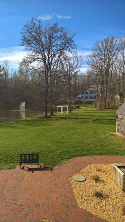 Spotsylvania, VA: View from the main building which hosts events