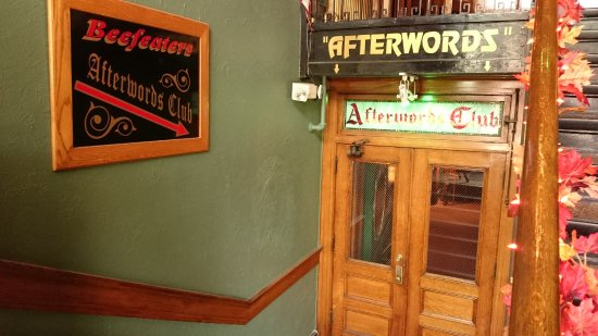 "Bradford, PA: The ""Afterwords Club"" downstairs of Beefeaters"