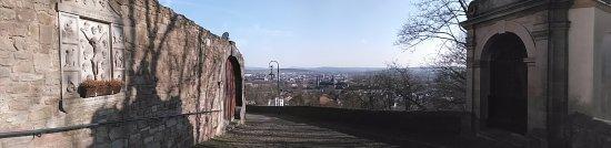 Kloster Frauenberg: Blick über die Stadt Panorama