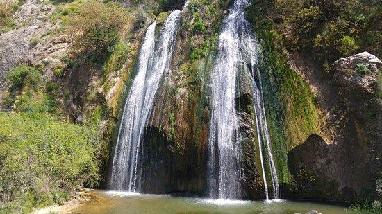 Metulla, Israel: водопад Тахана