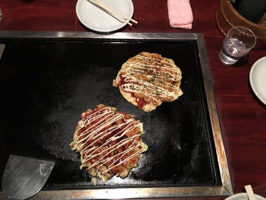 Asakusa Okonomiyaki Sometaro: Do it yourself cabbage and meat griddle cakes! English menu, very kind staff. Remove your shoes