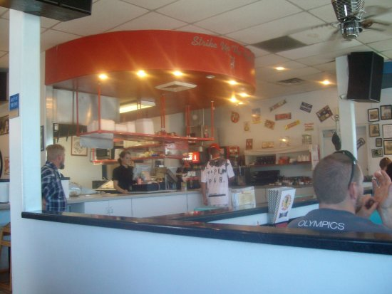 Main dining area, One Man Band Diner, Spanish Fork