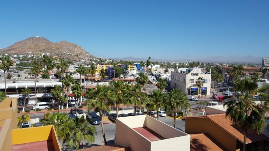 Tesoro Los Cabos: View from the walkway in front of our room.