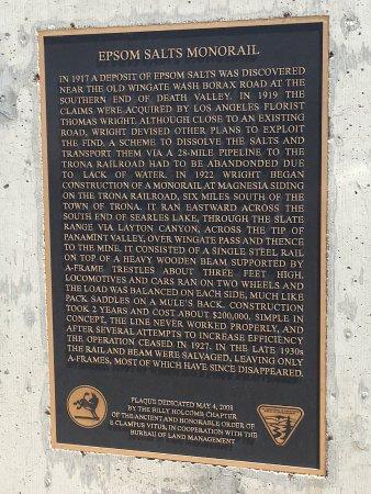 Trona, Californien: epsom Salts Monorail