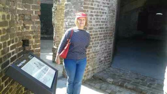 Fort Sumter National Monument: Ammo and powder storage.