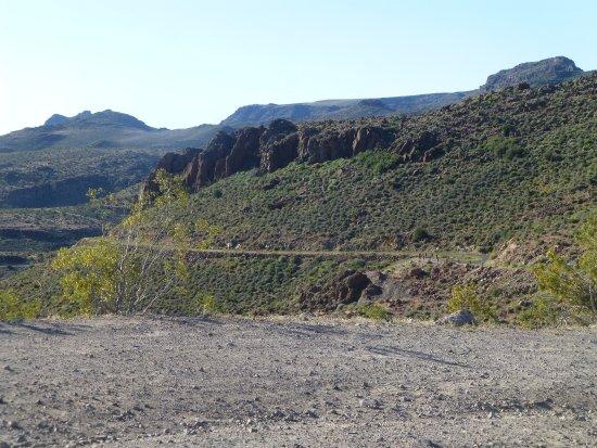 คิงแมน, อาริโซน่า: Mountain roads