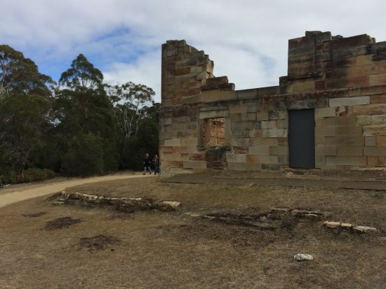 Saltwater River, Australia: Derelict Buildings At Coal Mine Site (Port Arthur)