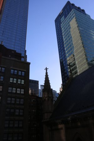 Broadway at Times Square Hotel: View from 706
