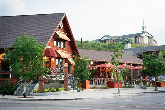 Draper, UT: Enjoy scenic views of Lone Peak from our airy dining room and patio