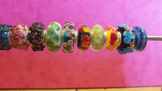 Lydney, UK : Just a small selection of our unique beads for sale in our shop