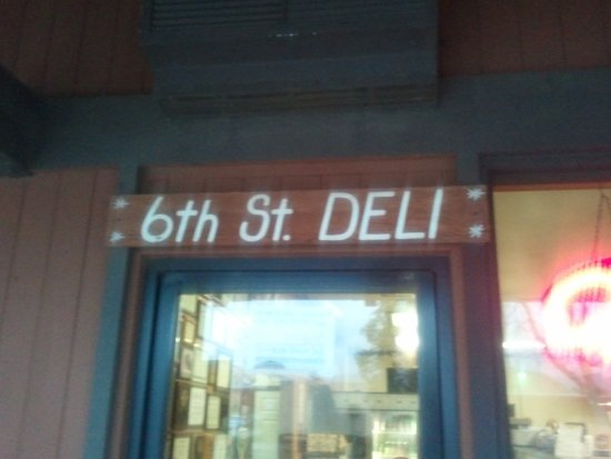 Norco, Californië: 6th Street Deli