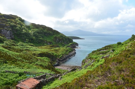 Isle of Raasay, UK: Driving on Raasay