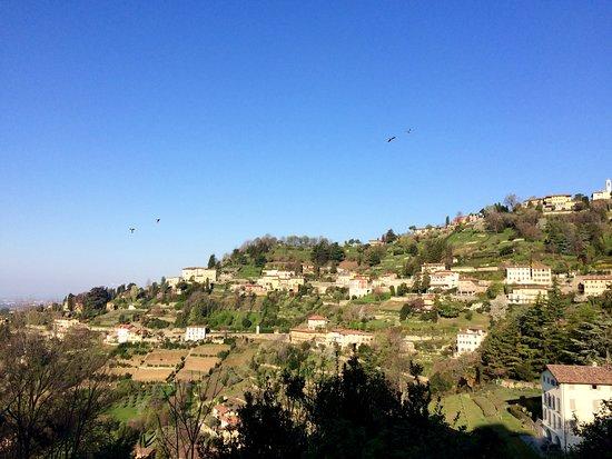 A Casa Mia: View from the bedroom's balcony