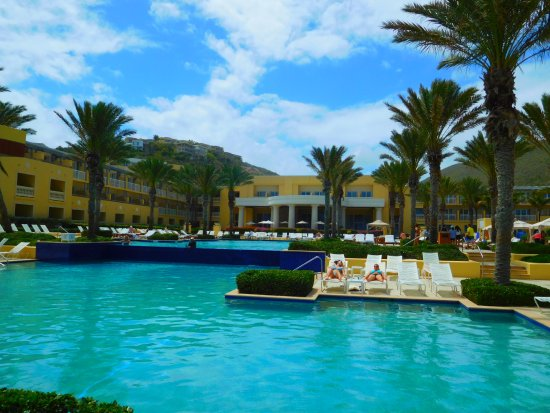 The Westin Dawn Beach Resort Spa St Maarten Beautiful Pool But
