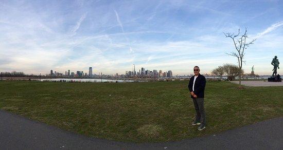 Liberty State Park: Lugar maravilhoso e a melhor visão de Manhattan! Para tirar fotos e para se sentir realmente em