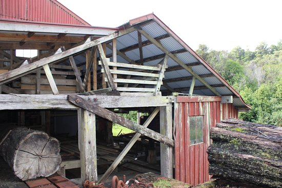Greymouth, New Zealand: The saw mill - some interesting insights to daily life here.