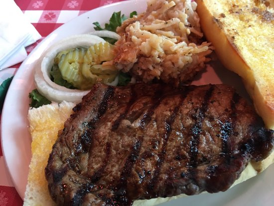 Caleco's Restaurants & Bars: Rib eye sandwich $12. What a steal