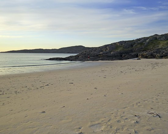 Lochinver, UK: pure sand and sparkling waters