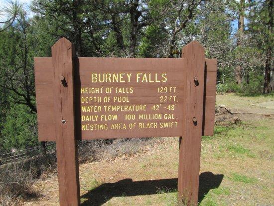 Burney, Califórnia: Map