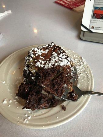 Silvia's Gourmet Restaurant: my fresh, warm, dessert