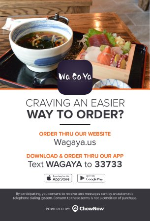 Online Ordering Now Available Via Chownow Picture Of Wagaya Atlanta Tripadvisor We'd like to share some. online ordering now available via