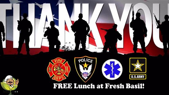 Amsterdam, NY: Memorial Day Free Lunch for Veterans and First Responders
