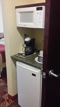 Jasper, AL: frig, microwave, coffee pot