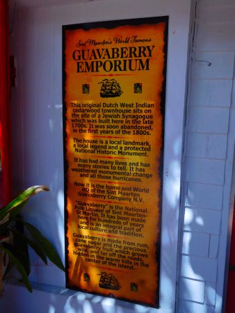 Sint Maarten Guavaberry Company: Historic location and modern fun!