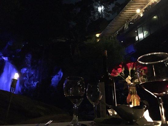 Mision Grand Valle de Bravo: Pie de casca en Cena Romántica