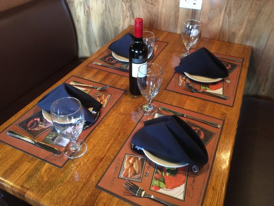 North Fort Myers, FL: Nice table setup