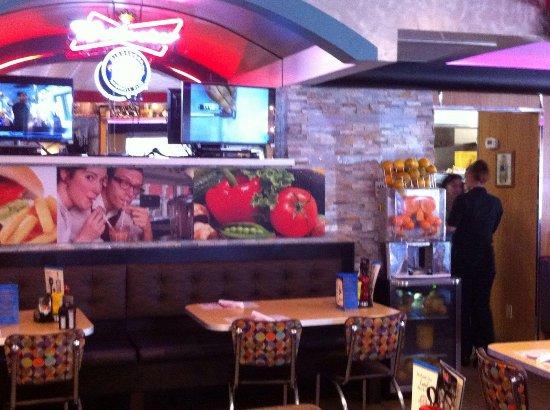 Mel's Diner: Innenraum