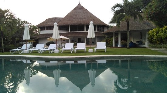 Bukit, Indonésie : looking back at the villa