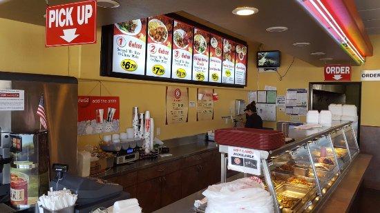 Santee, Καλιφόρνια: Buffet Style Menus