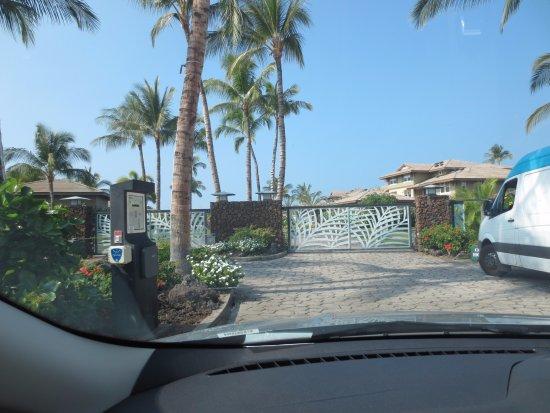 Halii Kai Resort at Waikoloa Beach: ゲート