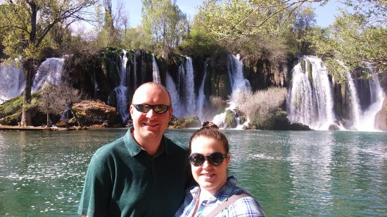 Solin, Kroatien: Gorgeous waterfall in Croatia. (Photo courtesy of Mate, thanks again!)