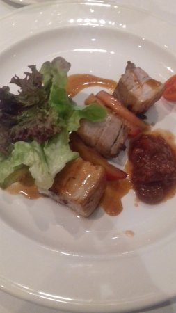 Furbo, Irlanda: Pork belly starter.