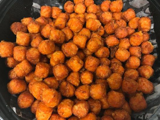 Melville, Estado de Nueva York: Sweet potato tots