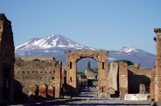 Private Tour: Pompeii and Naples from...