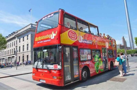 Dublin Hop-On Hop-Off Bus Pass...