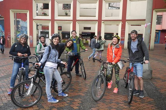 Bogota 4-Hour Sightseeing Bike Tour
