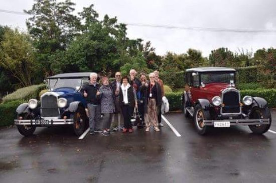 Hooters Vintage and Classic Vehicle Hire Ltd: Photo taken at the winery