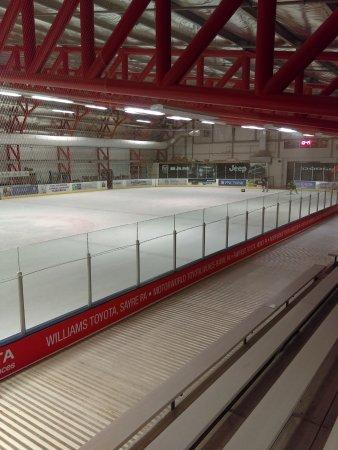 A nice community rink