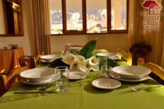 Posada Las Tres Marias: comedor