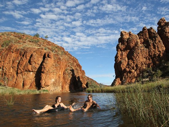 Red Centre, Australia: Glen Helen Gorge - Photo provided by Tourism Central Australia