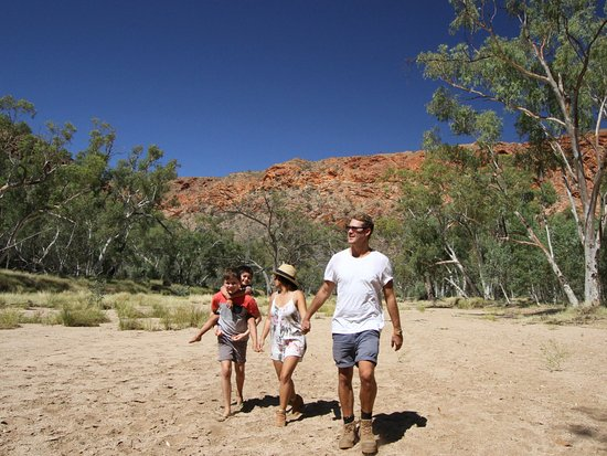 Red Centre, Australia: Trephina Gorge, East MacDonnell Ranges - Photo provided by Tourism Central Australia